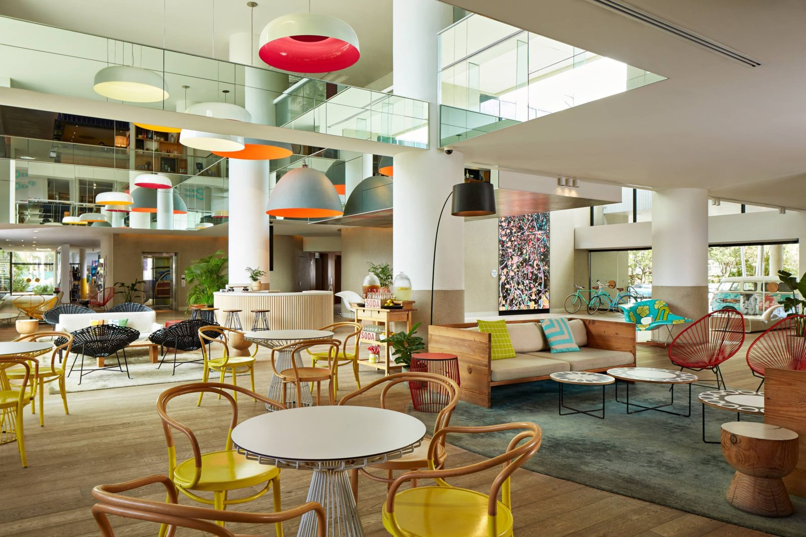QT Gold Coast lobby