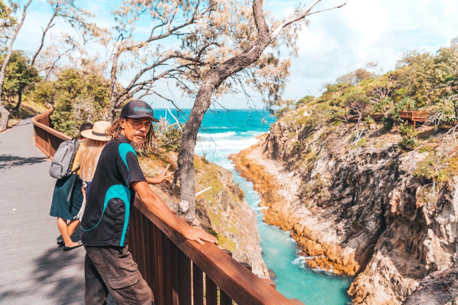 Minjerrabah Aboriginal Cultural Walk