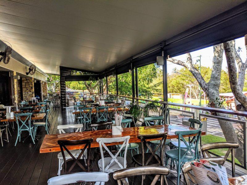 Queens Park Cafe Deck