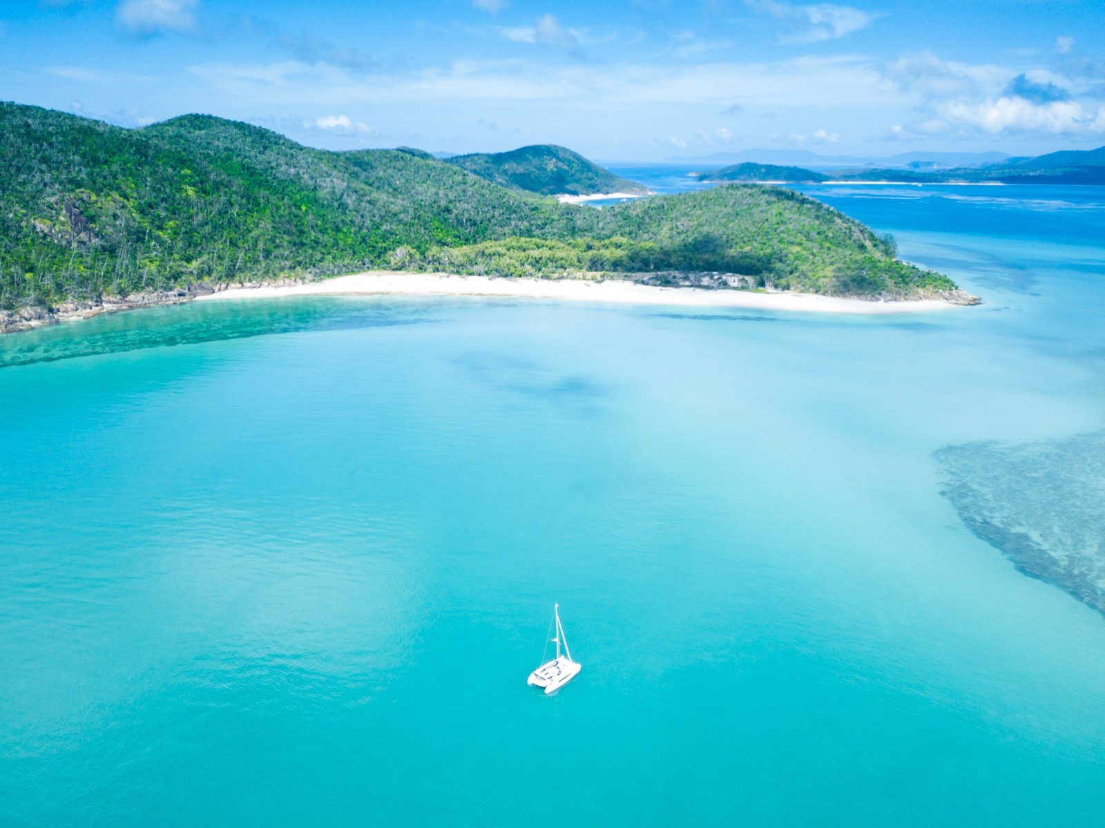 Jules Ingall with Queensland Yacht Charters