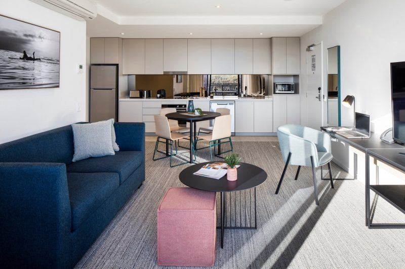 Two Bedroom APT - Living Room