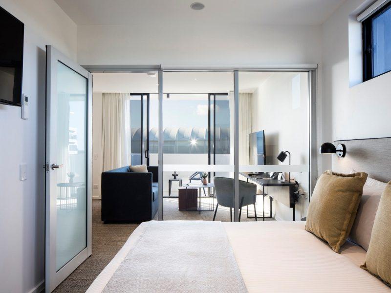 One Bedroom APT - Living Room