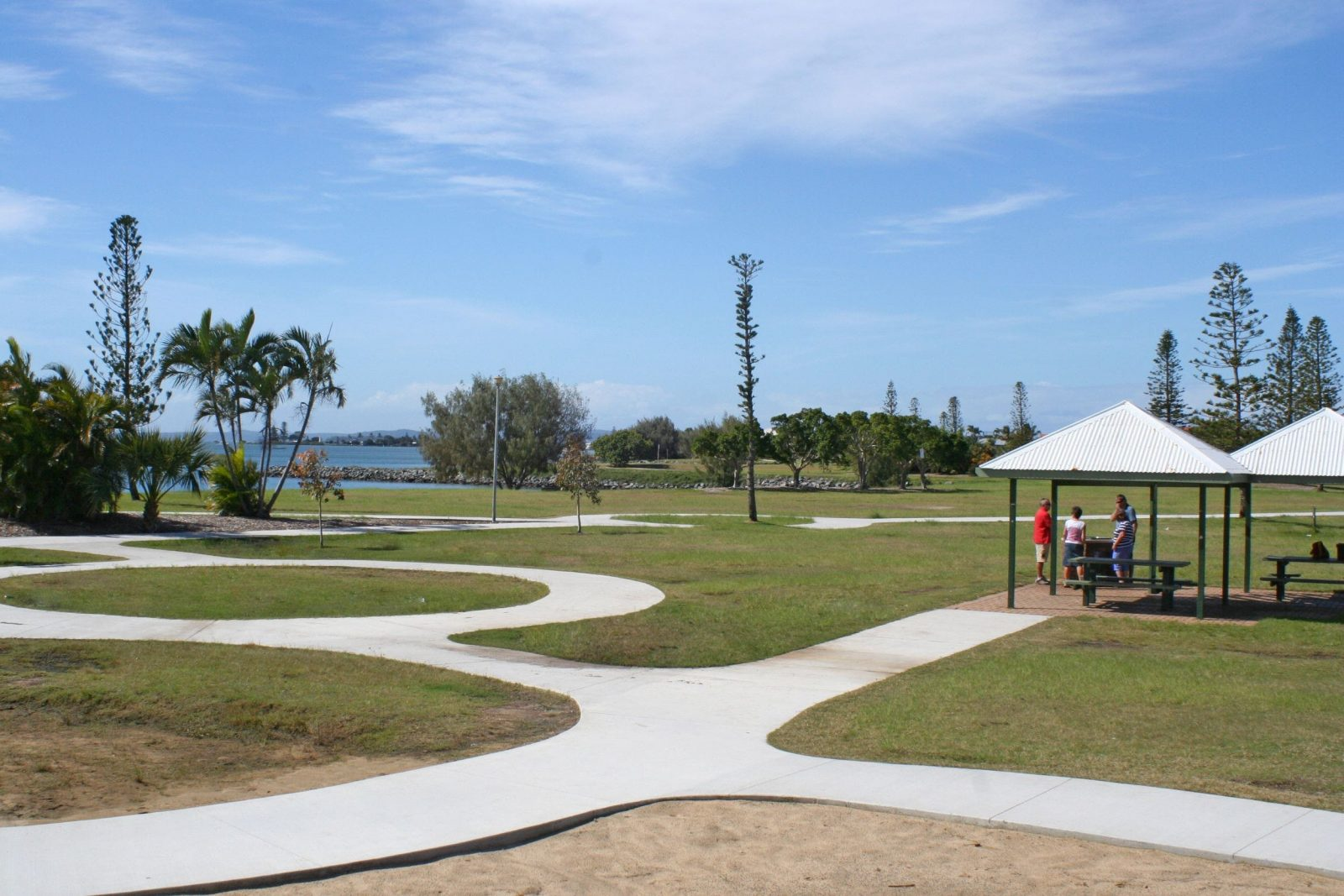 Raby Bay Foreshore park