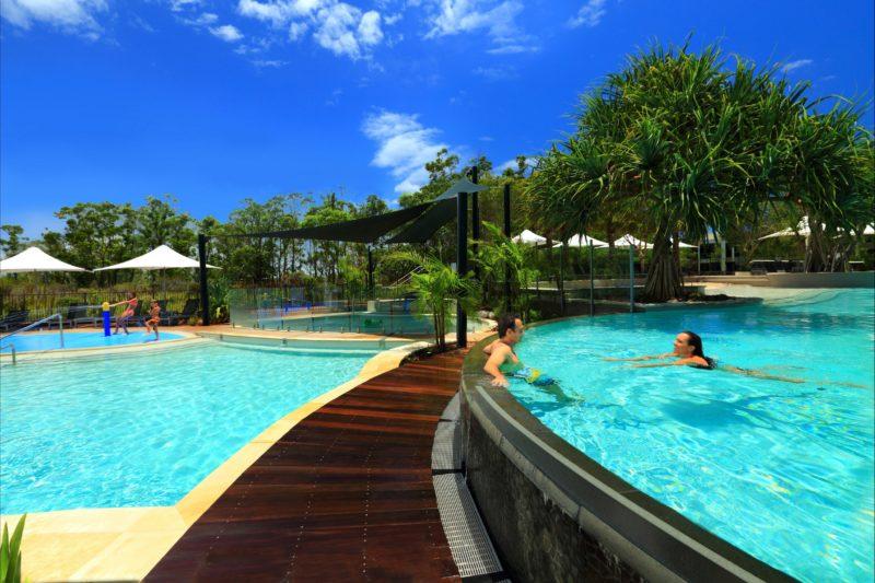 Heated pools (29 degrees)