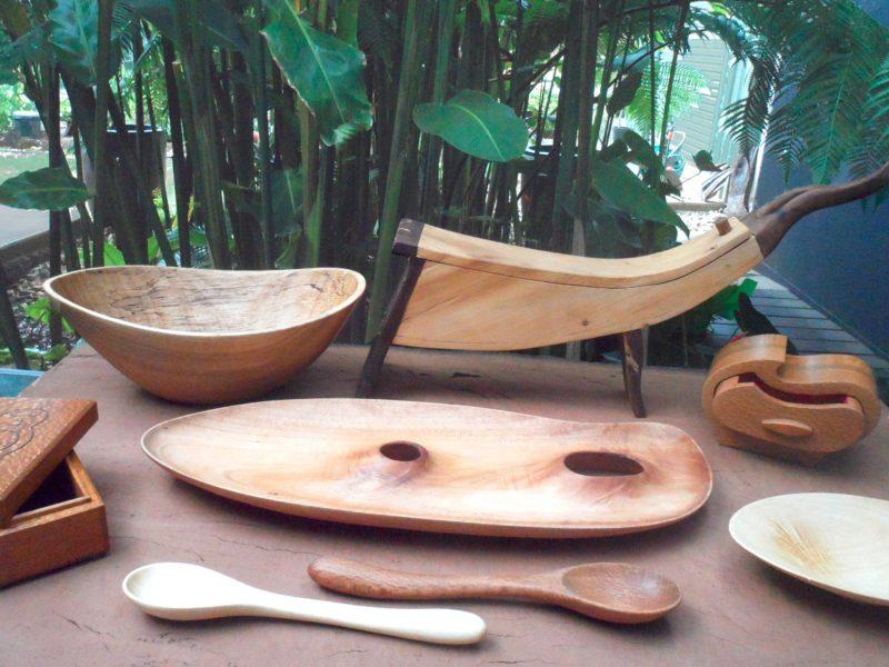 Wood at Rainforest Gems Gallery ~ Tolga, Atherton Tablelands, Queensland