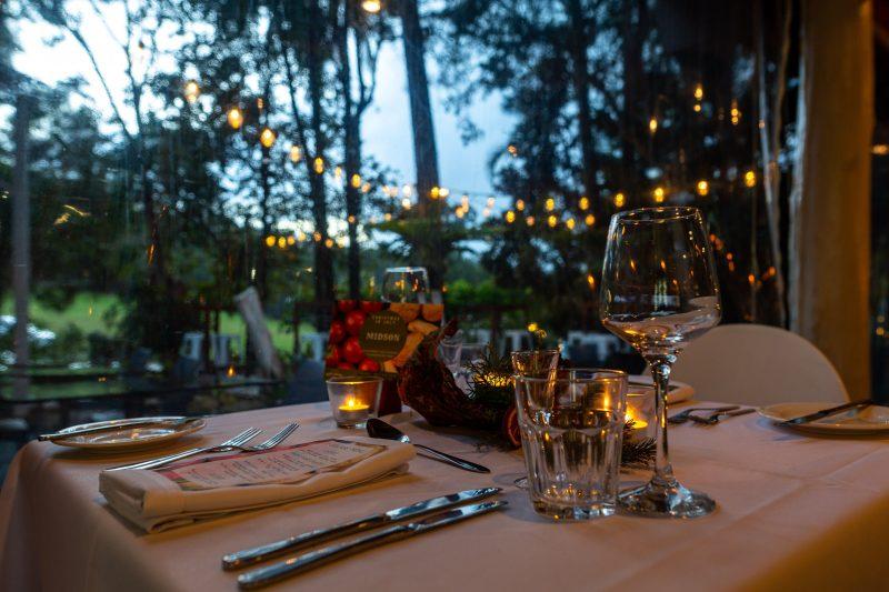 Rainforest Restaurant - Christmas In July