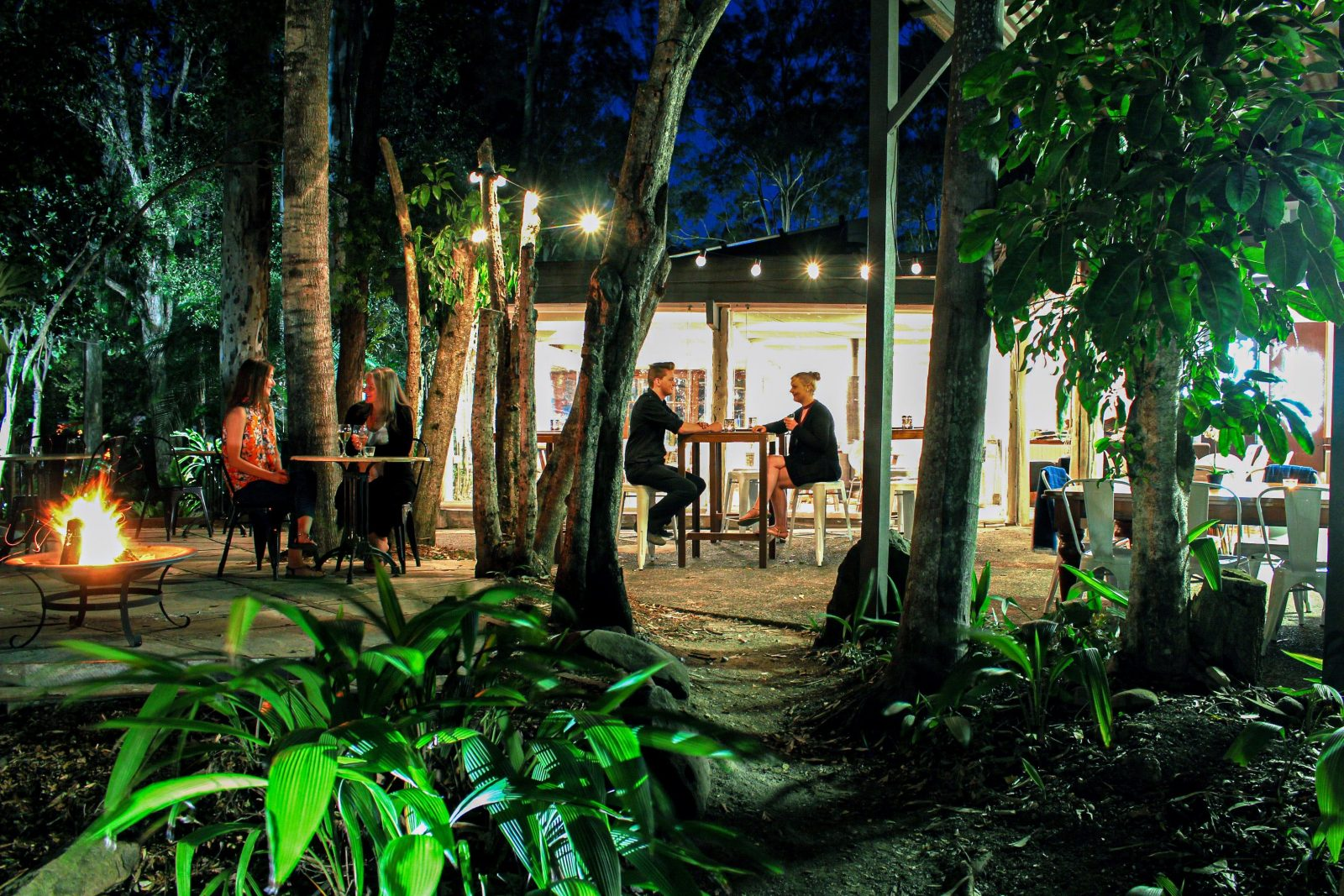 Rainforest Restaurant - Outdoor Evening