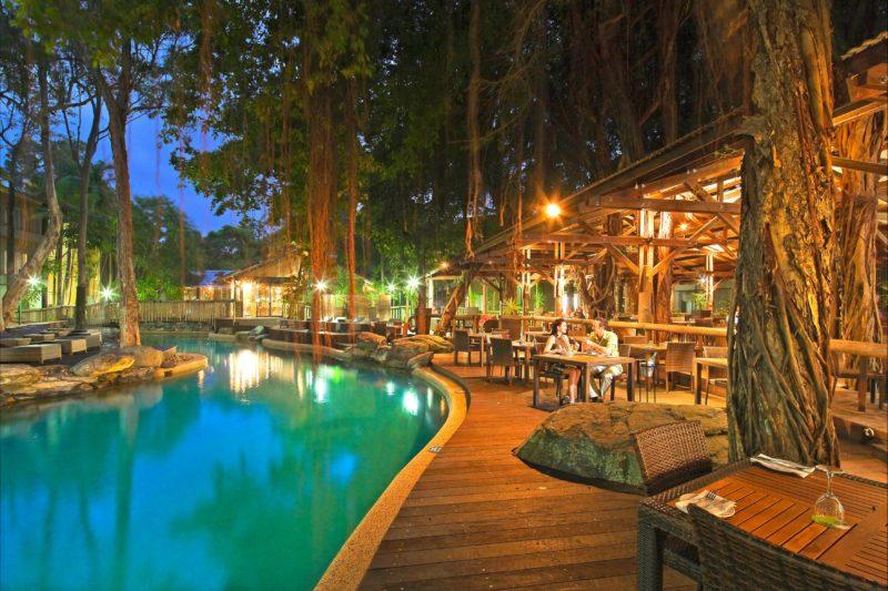 Ramada Resort Port Douglas restaurant near pool