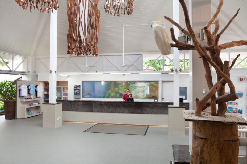 Ramada Resort Port Douglas Reception