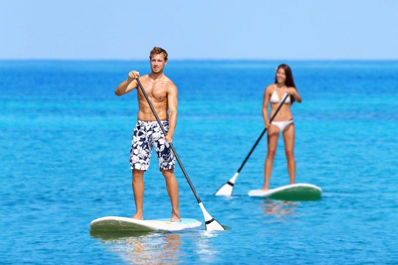 Ocean, Resort, Paddle Board