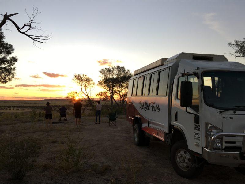 Sunset at Rangelands