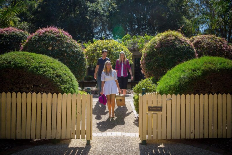 Walking out of the Formal Garden