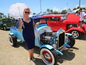 Kate Mulcahy at the Redlands Rockabilly Revival