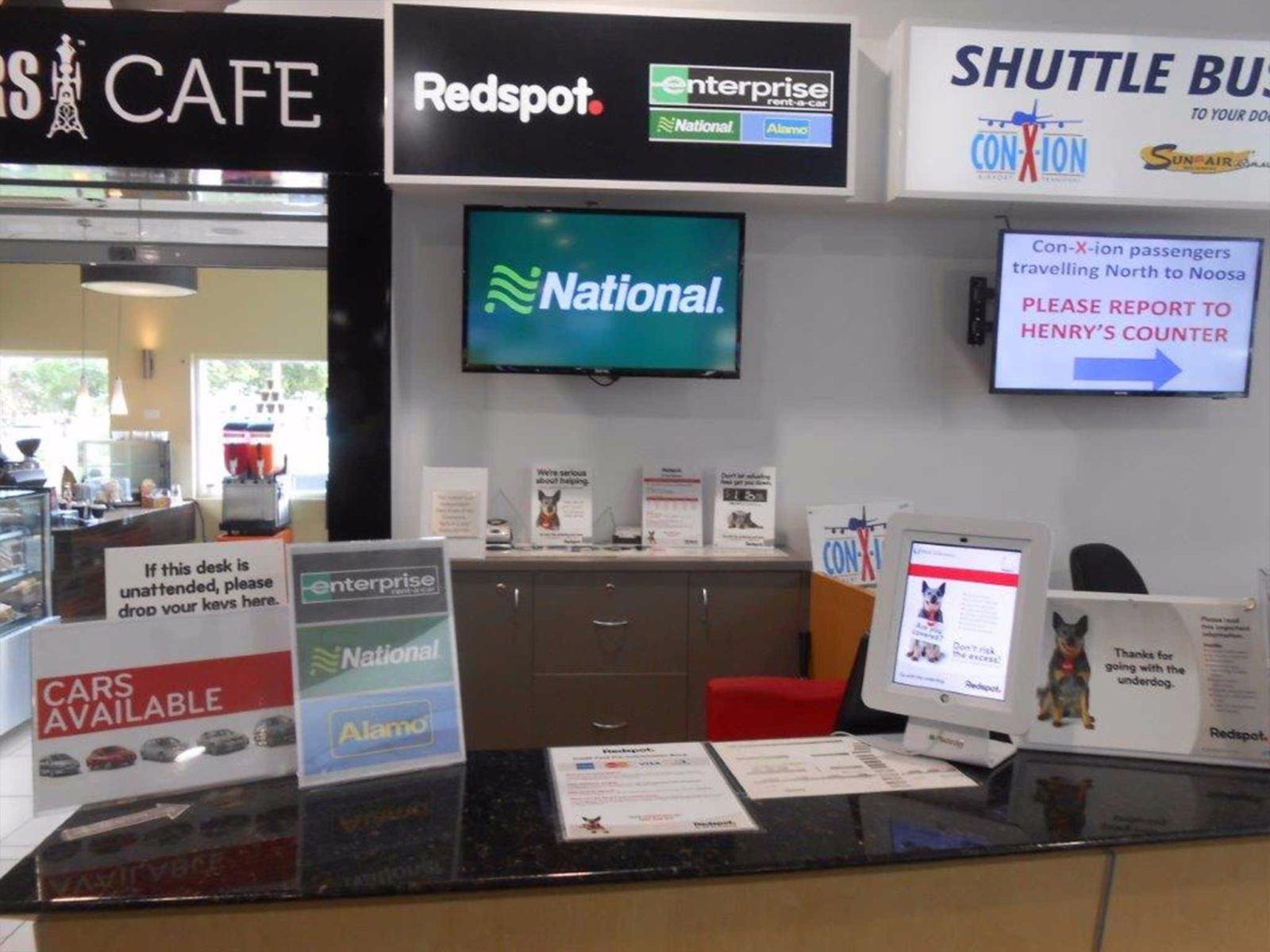 Sunshine Coast Airport - Redspot Car Rentals