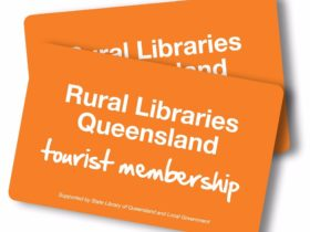 Regional Libraries Queensland Tourist Card