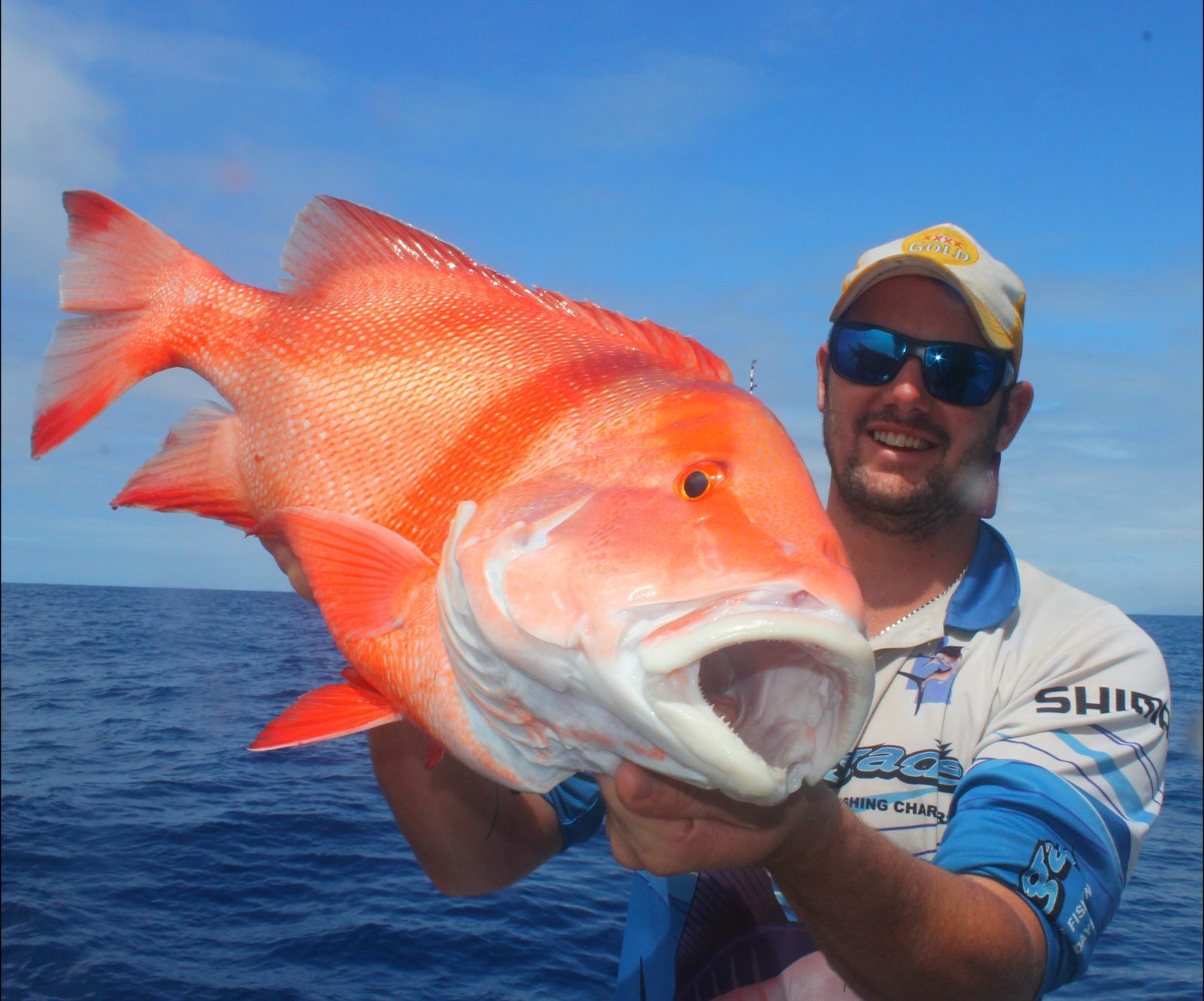 This is a Red Emperor. one of the most sought after fish on the East Coast.