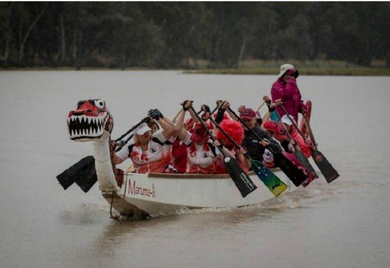 River Dragon Boat Racing