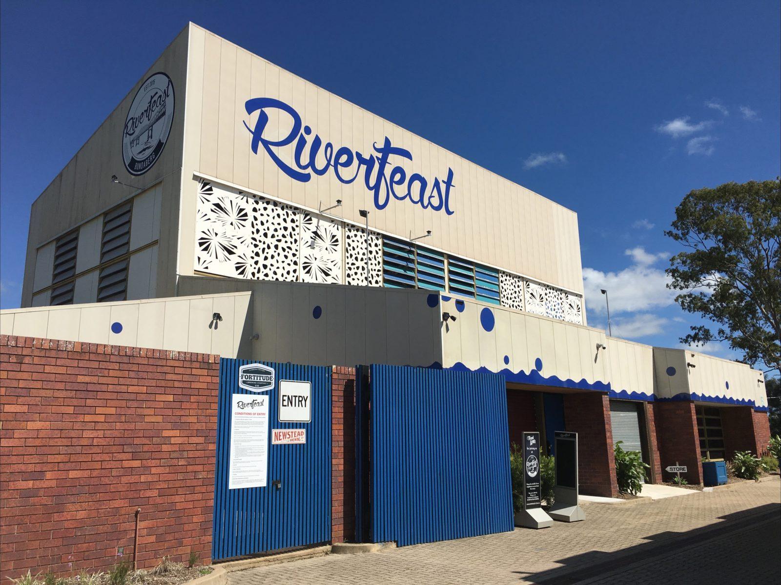 Building Entrance to RiverFeast Bundaberg