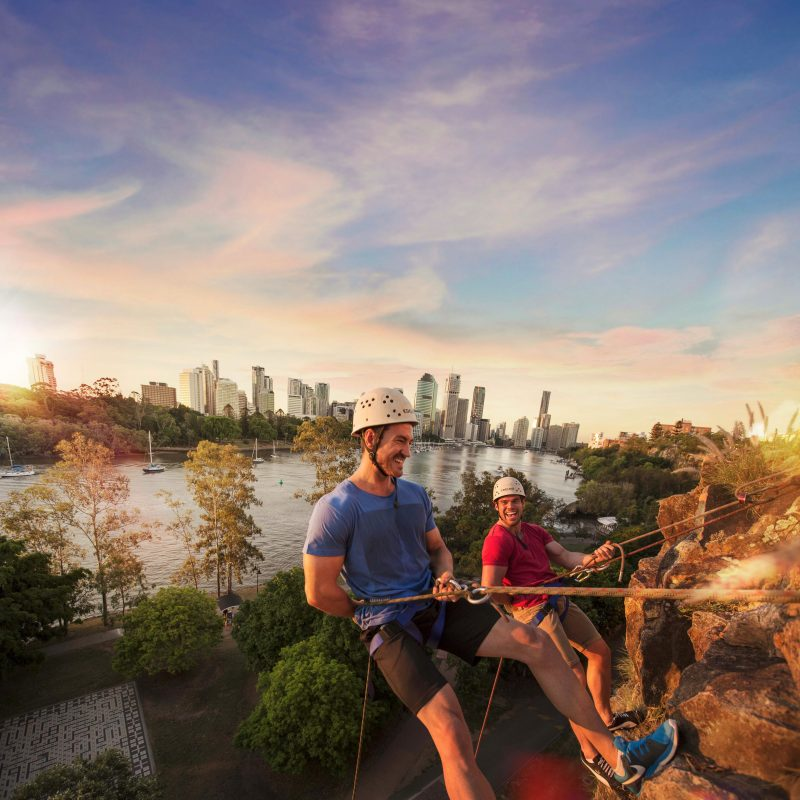 Abseiling Kangaroo Point brisbane qld riverlife