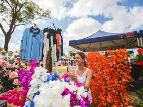Browse the many stalls at the Heritage Village markets