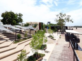 Newly developed Rockhampton Riverside Precinct