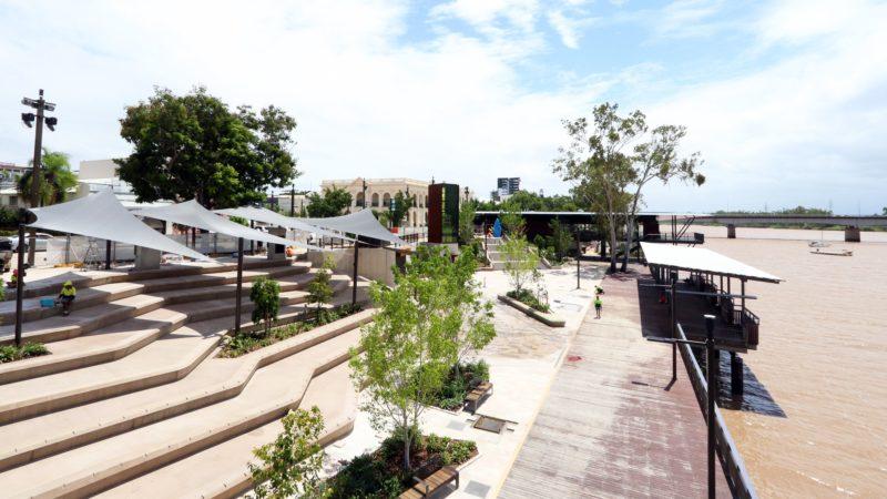 Newly developed Rockhampton Riverside Precinct