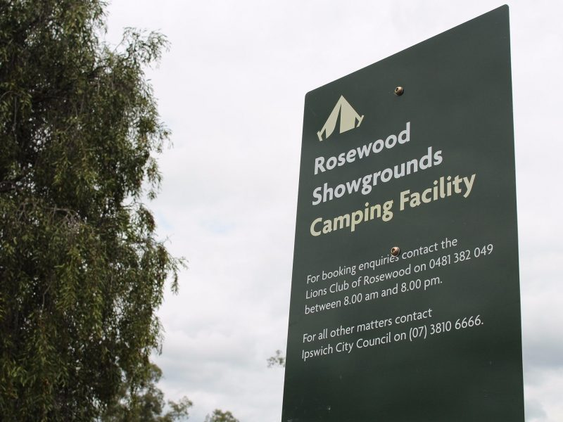 Rosewood Showgrounds Camping Facility