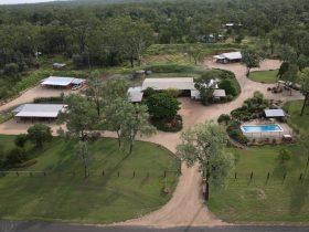 Aerial View Rubyvale Motel