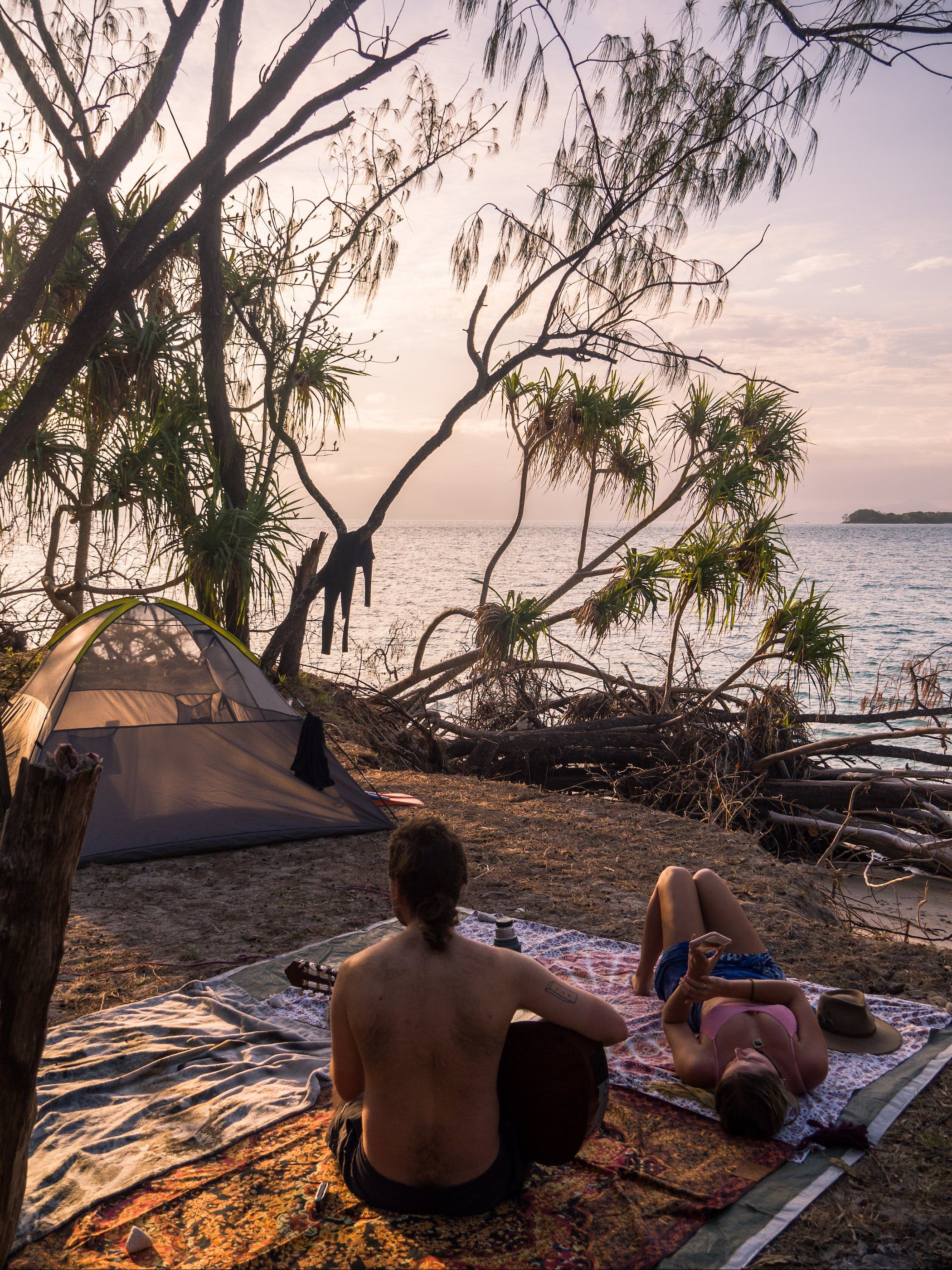Russell Island Camping transfers by Frankland Island Reef Cruises