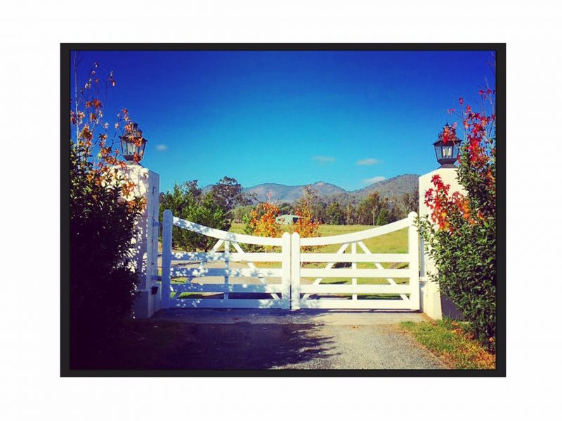 Sarabah Estate Vineyard Entrance Gates