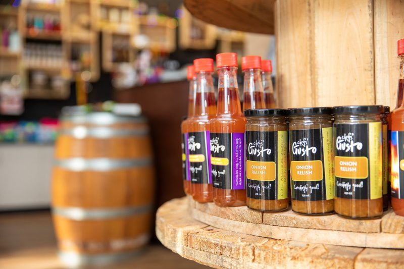 Our Chefs Gusto range of sauces, chutneys and relishes