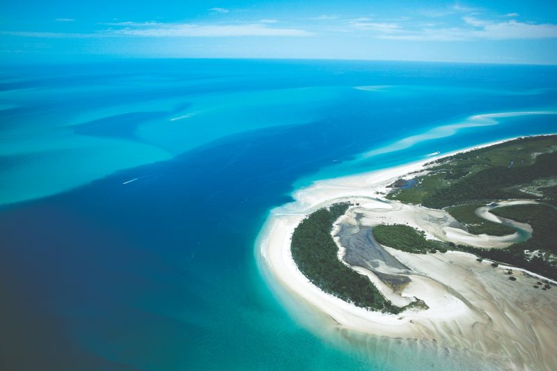 Moon Point on Fraser Island