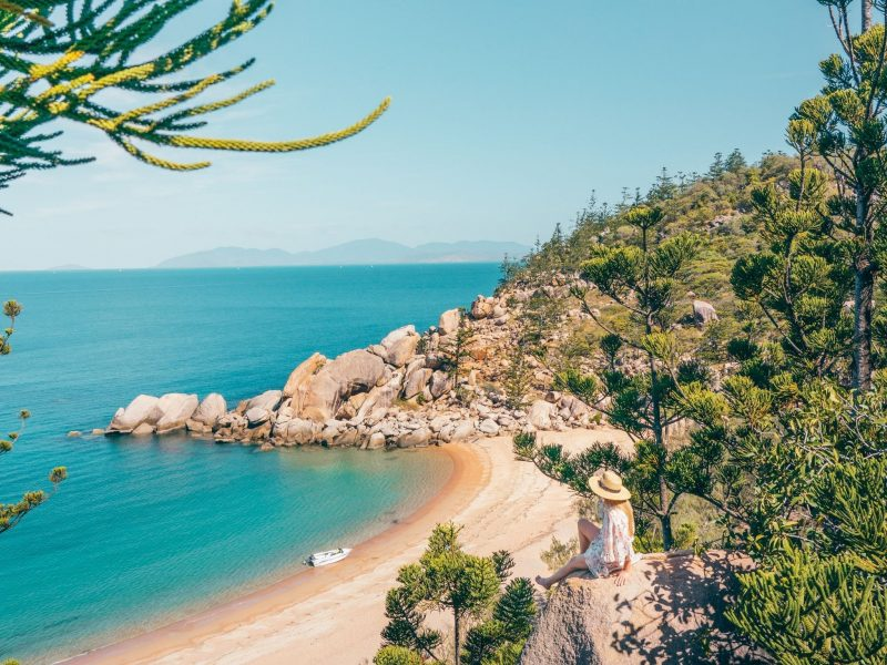 Arthur Bay lookout Magnetic Island