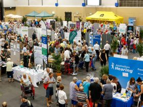 Seniors Lifestyle Expo stalls