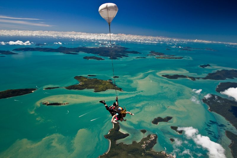 Skydive over Airlie Beach and the Whitsundays islands!