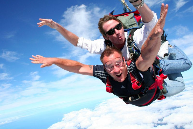 Tandem Skydive at Skydive Ramblers Sunshine Coast