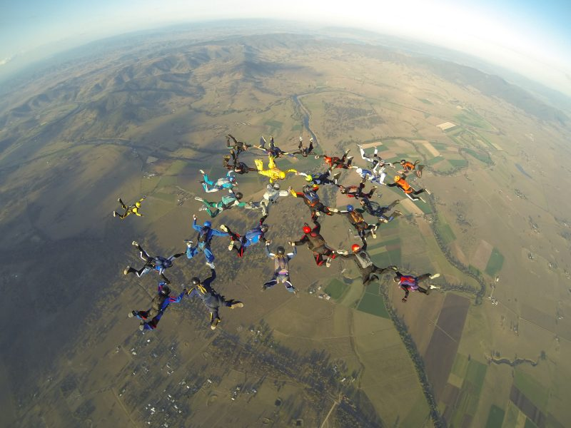 Big Way Formation Skydive, Equinox Boogie 2014