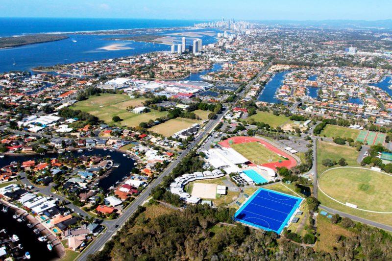 Sports Super Centre aerial