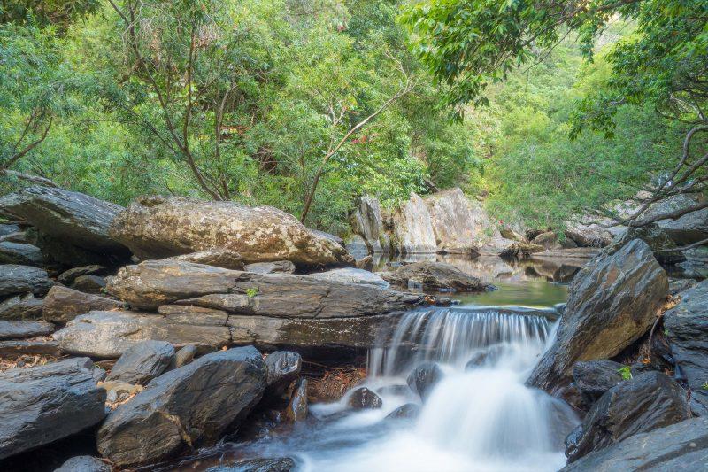 Cascades at Spring Creek Falls