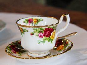 High Tea Cup and Saucer
