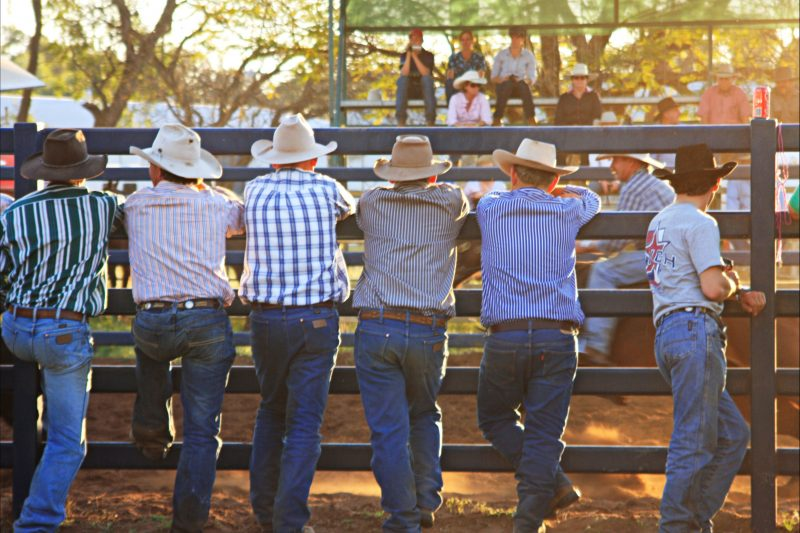 Rodeo Action at the St George Showgrounds