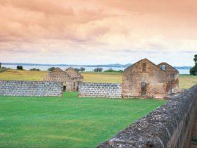 Ruins of penal settlement