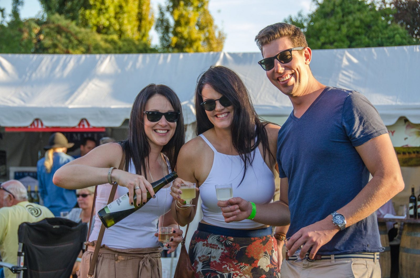 Heritage Bank Food and Wine Fiesta at Stanthorpe Apple and Grape Harvest Festival
