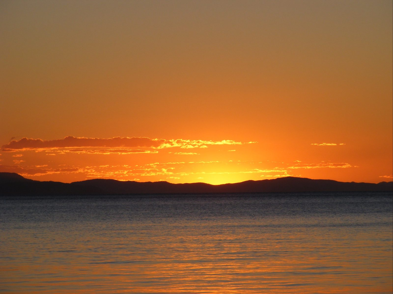 Sunset, Hook Island