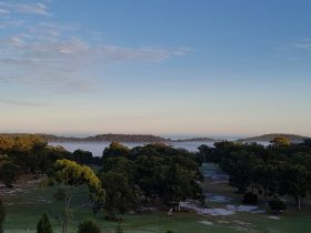 Winter is the perfect time to play golf on Straddie in the Classic