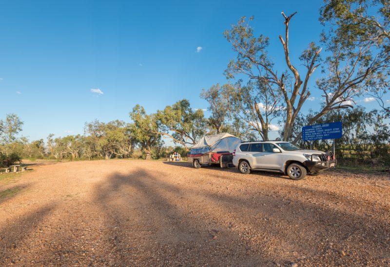 Camping at Stubby Bend Tambo Free