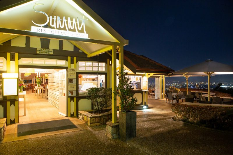 Summit Restaurant is open every day of the year
