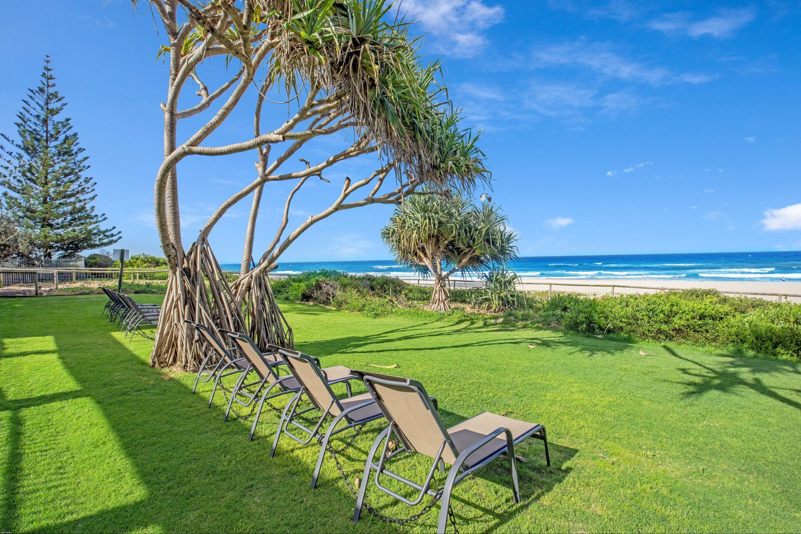 Located absolute beachfront on Surfers Paradise