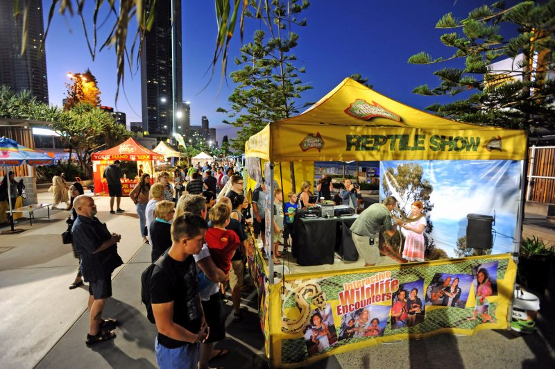 You never know what you might find at the Surfers Paradise Beachfront Markets