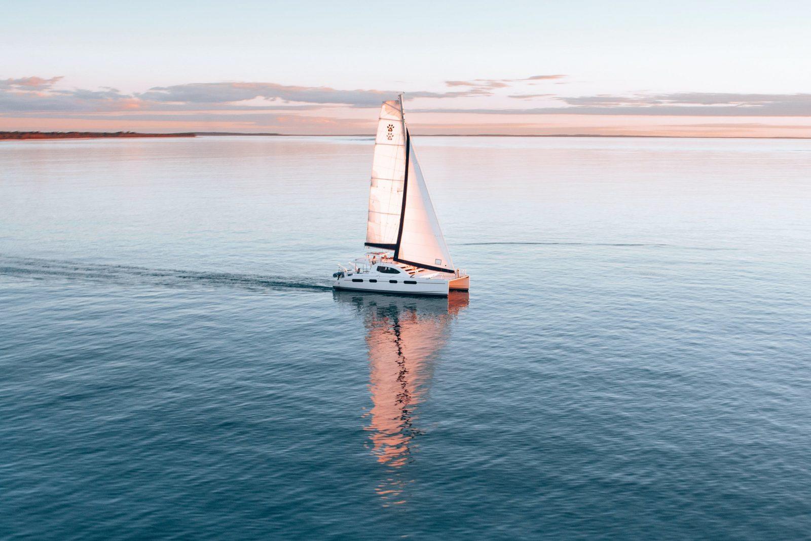 Sailing Fraser Island, Great Sandy Strait